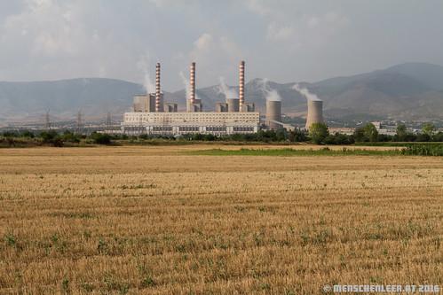 plant station power greece kraftwerk coal griechenland dimitrios agios kohlekraftwerk menschenleerat