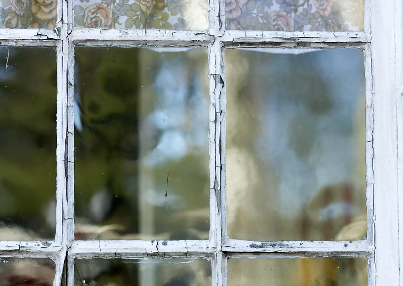 Old Style Window Glass