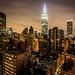 NYC Skyline from Shelburne Affinia by legdog
