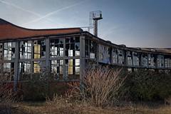 Aisne - Rotonde et anciens ateliers SNCF de Laon