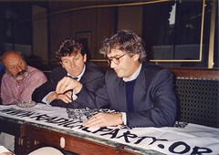 Ugo Raza, Gianfranco Leonarduzzi e Maurizio Turco