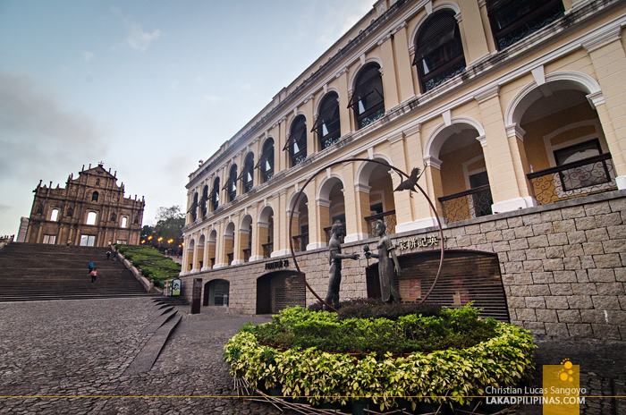 Unesco Company of Jesus Square Macau China