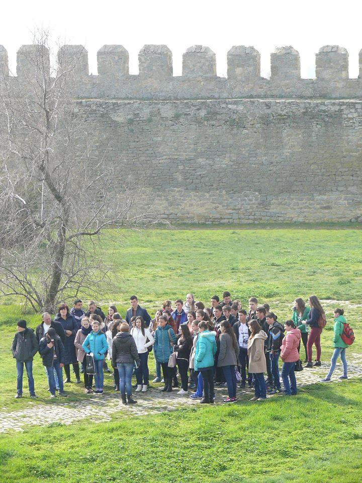 elevi și dascăli, etnici români din Sudul Basarabiei (6)