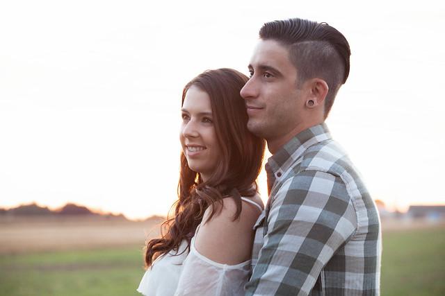 Megan & Eric | Kitchener Fun & Unique Engagement Photography