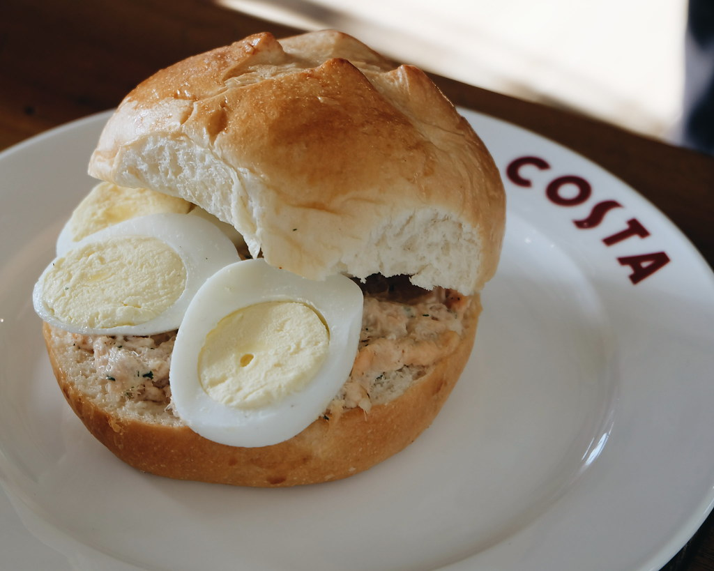 costa coffee new sandwiches