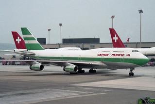 Cathay Pacific Airways Boeing 747-467 VR-HOP