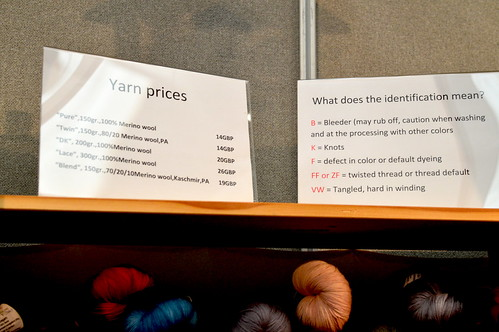 Snapshots of Edinburgh Yarn Festival 2016