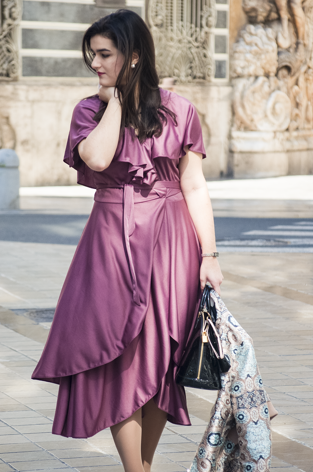 valencia fashion blogger spain somethingfashion vlc moda vintage vestido morado bimba y lola sunnies colorful estilo streetstyle amanda ramon_0091