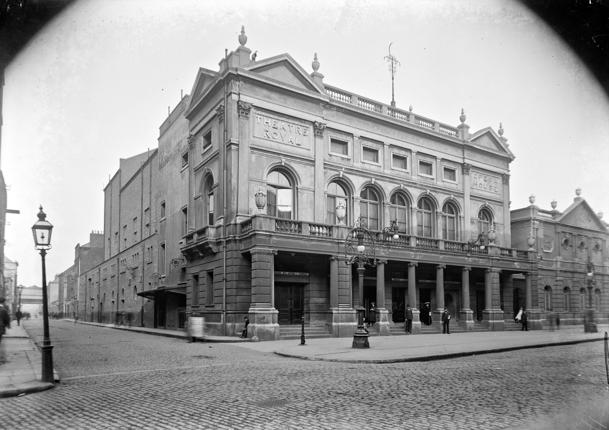Theatre Royal, Hawkins Street, Dublin