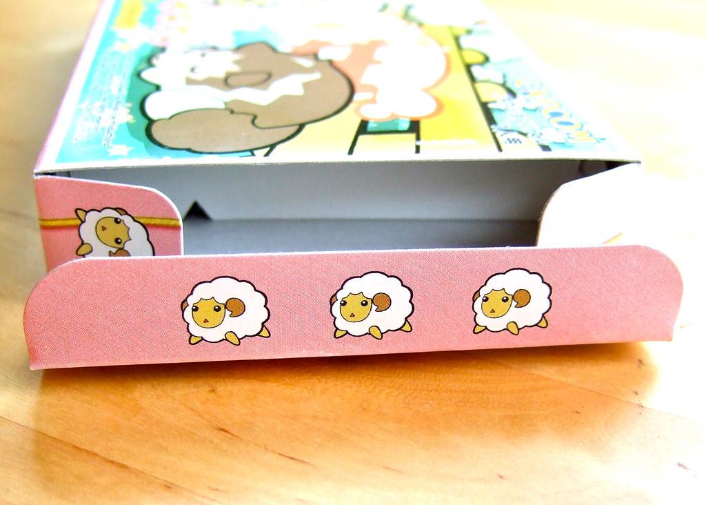 Hitsuji no Kimochi (GameBoy Advance) box flaps