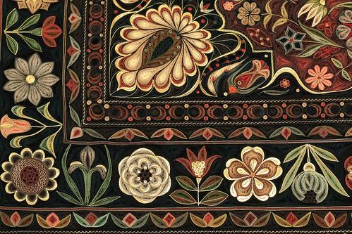 Jardin by Paper Artist Lisa Nilsson - Corner Detail