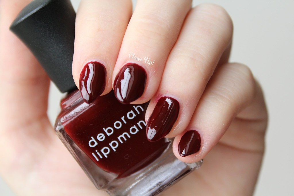 Deborah Lippmann Walk Away Renee swatch