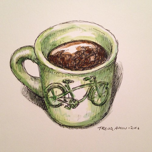 Coffee sketch
