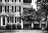 Street View in Charleston in Black and White by Jim Crotty