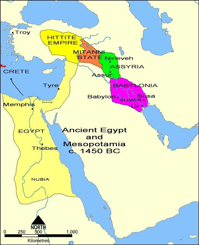 Overview map of the Ancient Near East in the 15th c. BC (M ... on map of babylonia, map of mesopotamia, map of east coast united states, map of syria, map of north east coast, map of assyria, map of phoenicia, map of hotels near disneyland, map of florida east coast, map of english, map of paul's journeys, map of far east, map of modern near east, bronze age collapse, map of levant, map of near east today, map of greece, map of middle east, fertile crescent, map of near east in biblical times, map of sumer, map of fertile crescent,