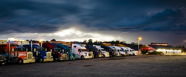 Truck Stop Storm