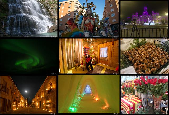 Así fueron los viajes de Wircky en 2015 - Collage fotos 2015