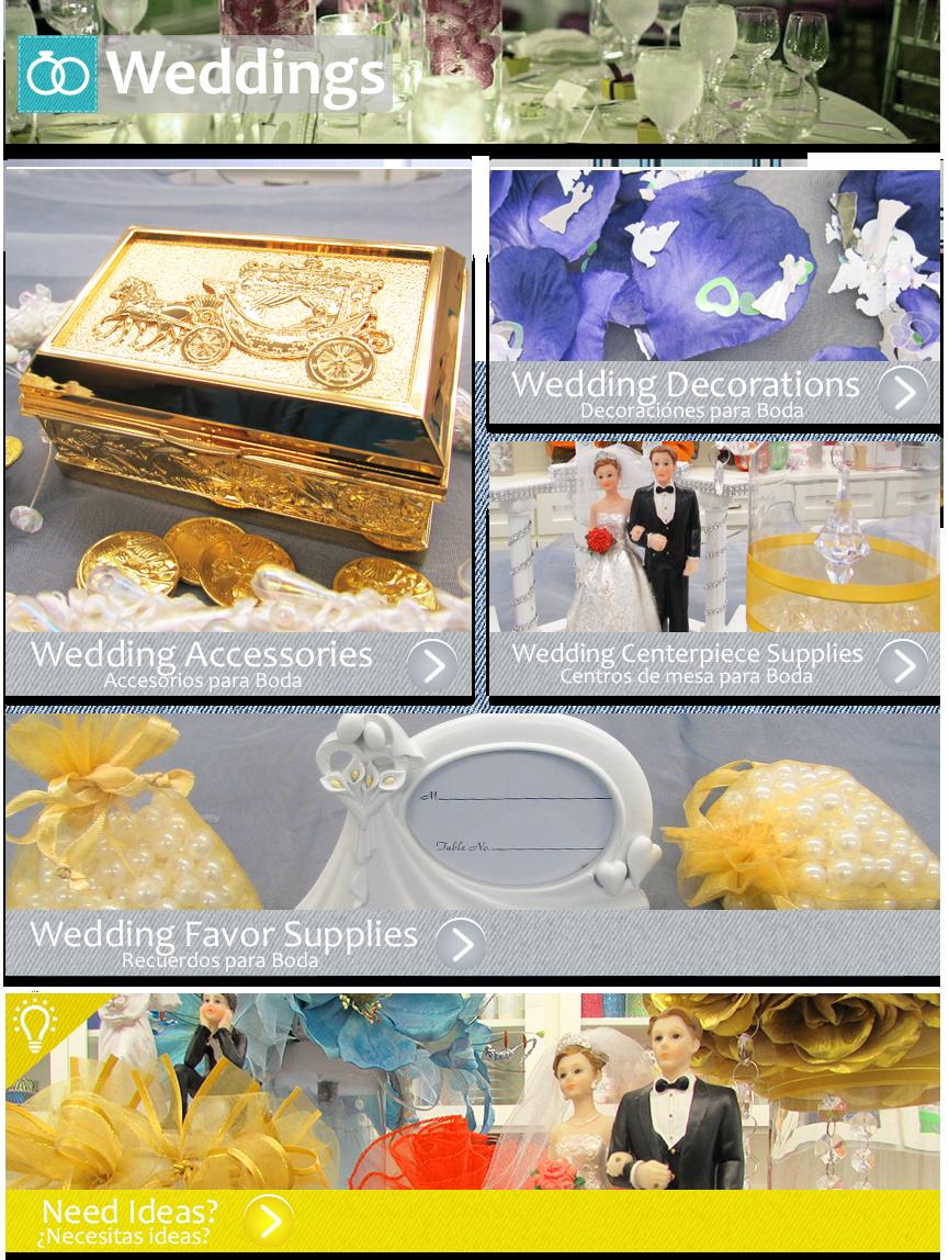 recuerdos de boda centros de mesa boda accesorios de boda
