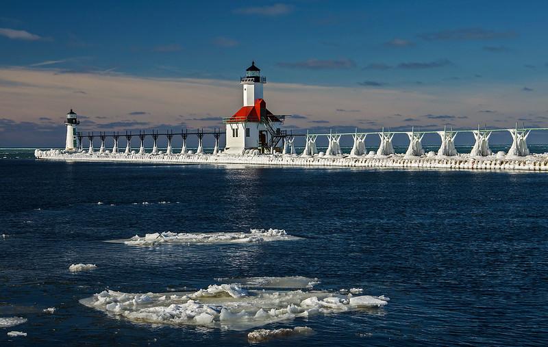 Bright Day on Lake Michigan