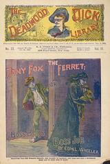 """Tony Fox, the ferret, or, Boss Bob's boss job"" in Deadwood Dick library, v. 3, no. 33"