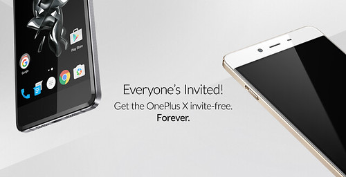 OnePlus X - Invite free. Forever.