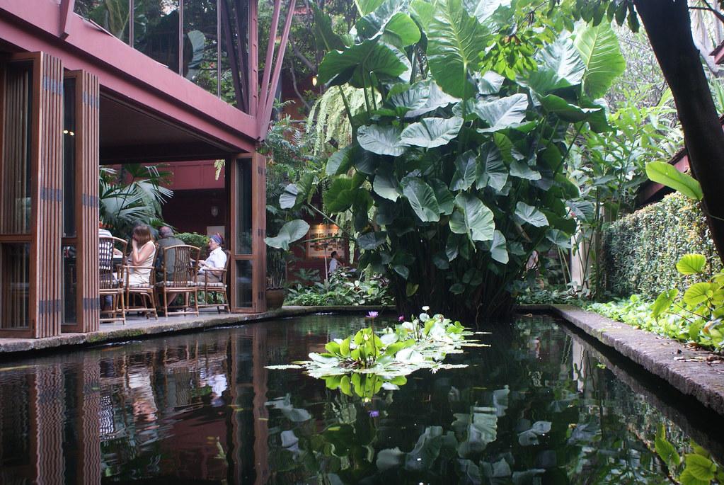 Meteo Bangkok : Végétation luxuriante dans le Musée Jim Thompson.