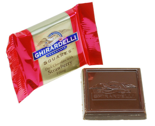 Ghiradelli Valentine's Dark & Strawberry Squares