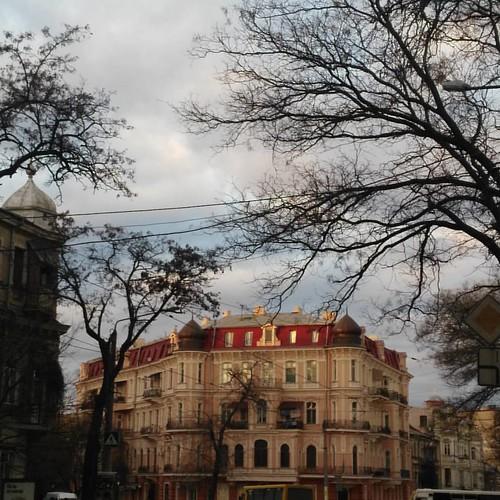 Red #odessa_ukraine #suninclouds #mycity