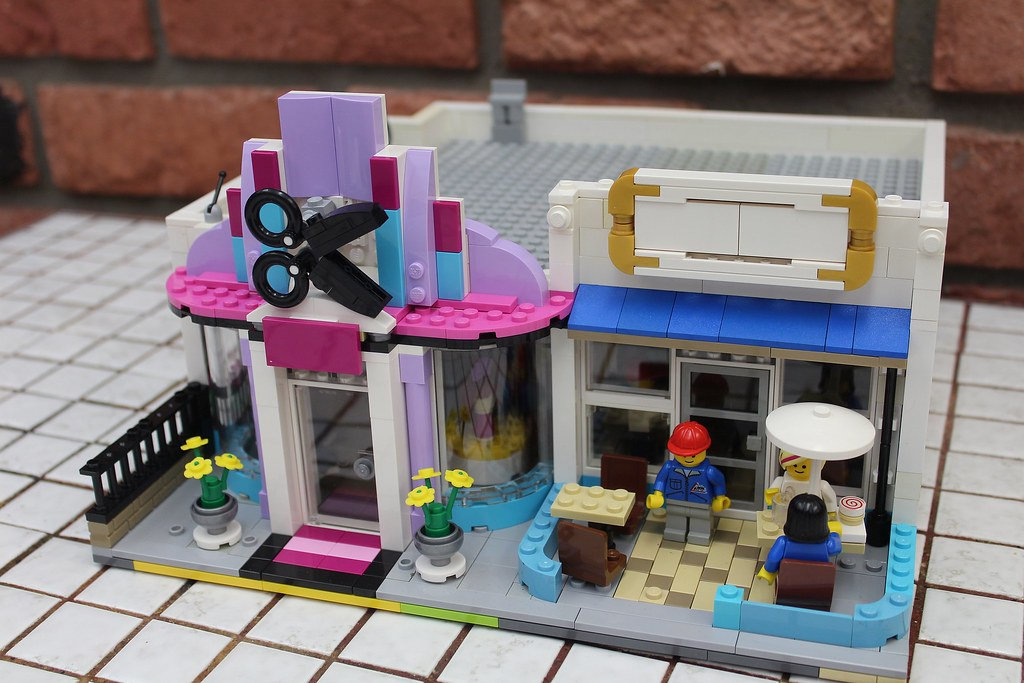 [Modern Modulars] Hair Salon + MADO Ice Cream Cafe