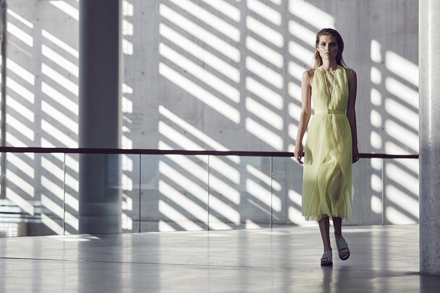 Agnieszka Golebiewska by Tomas De La Fuente for Telva February 2016