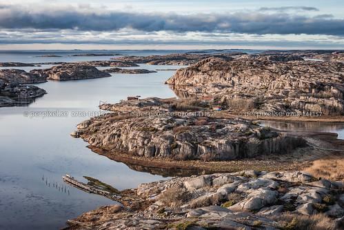 3 natur sverige swe västragötaland bovallstrand flygfoto
