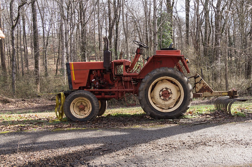 Old tractor - 1