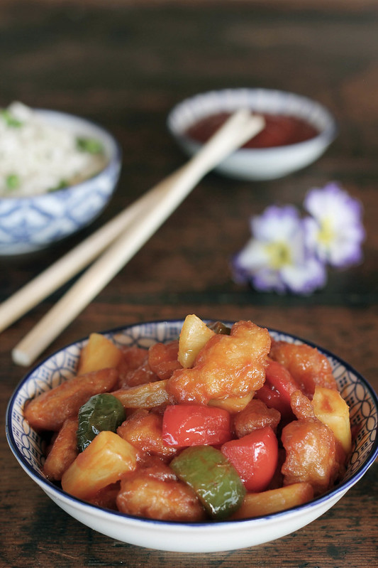 pollo agrodolce cinese-sweet&sour chicken