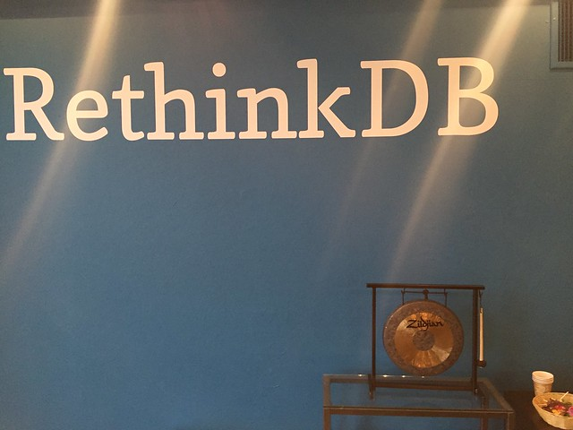 RethinkDB의 사무실