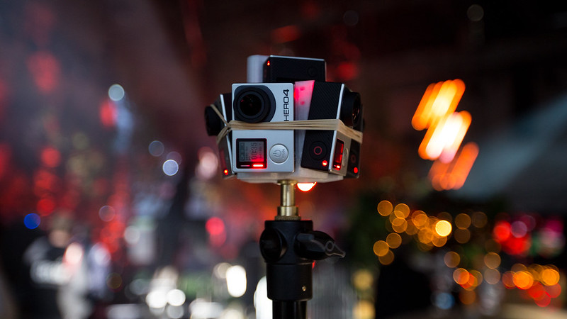 360° video rig