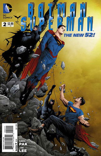 Batman Superman Cover 2