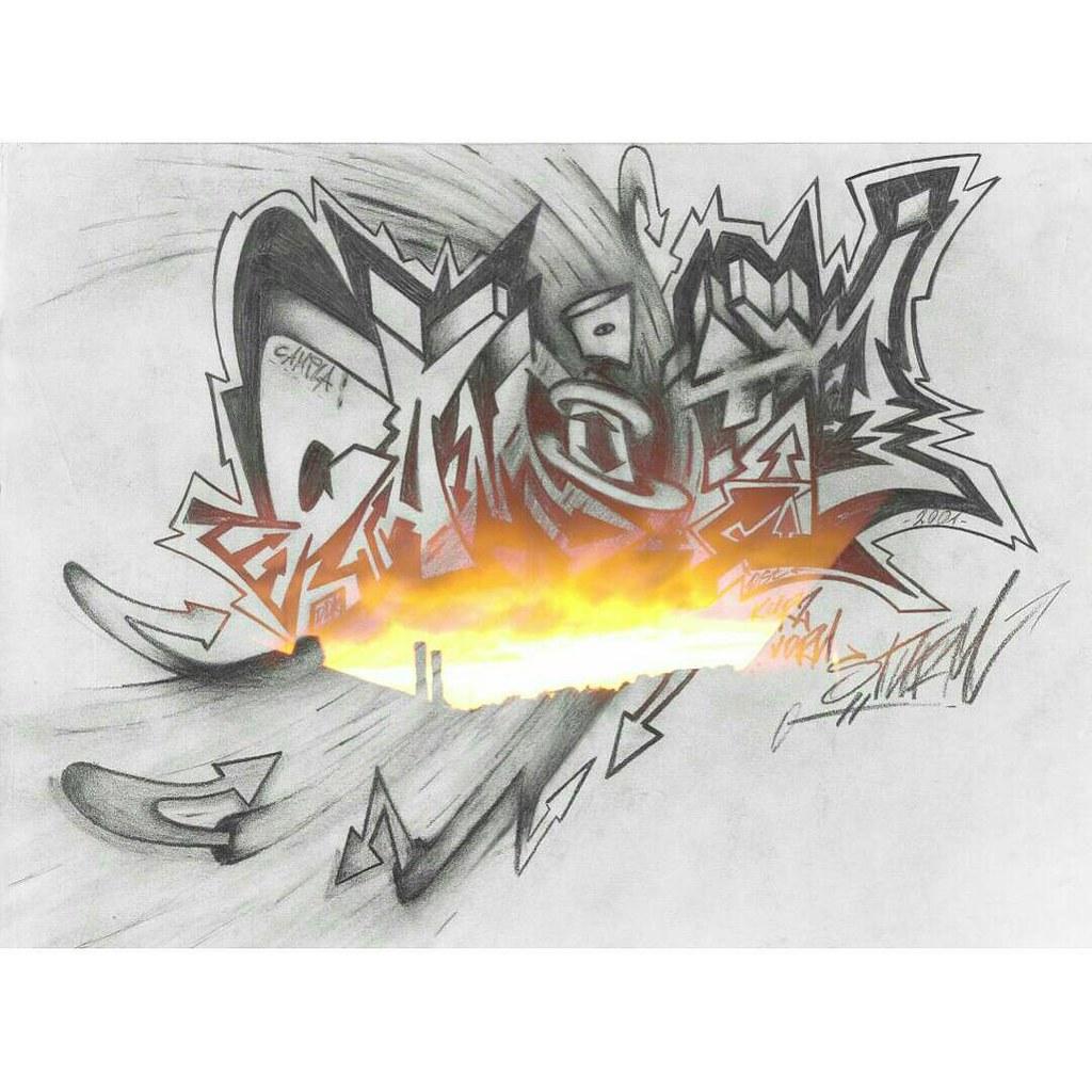 OSTdezign Graffiti Tattoo Design Vorlagen Ostdezign Hiphop