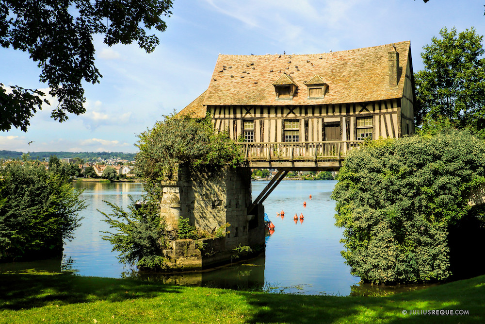 Le Vieux Moulin: The Medieval Mill in Vernon, France
