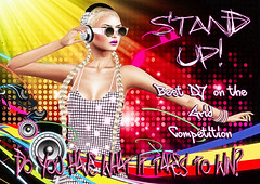 Stand UP! The Best DJ on the Grid Competition