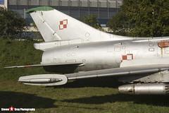 806 - 7806 - Polish Air Force - Sukhoi SU-7 BKL - Polish Aviation Musuem - Krakow, Poland - 151010 - Steven Gray - IMG_0325