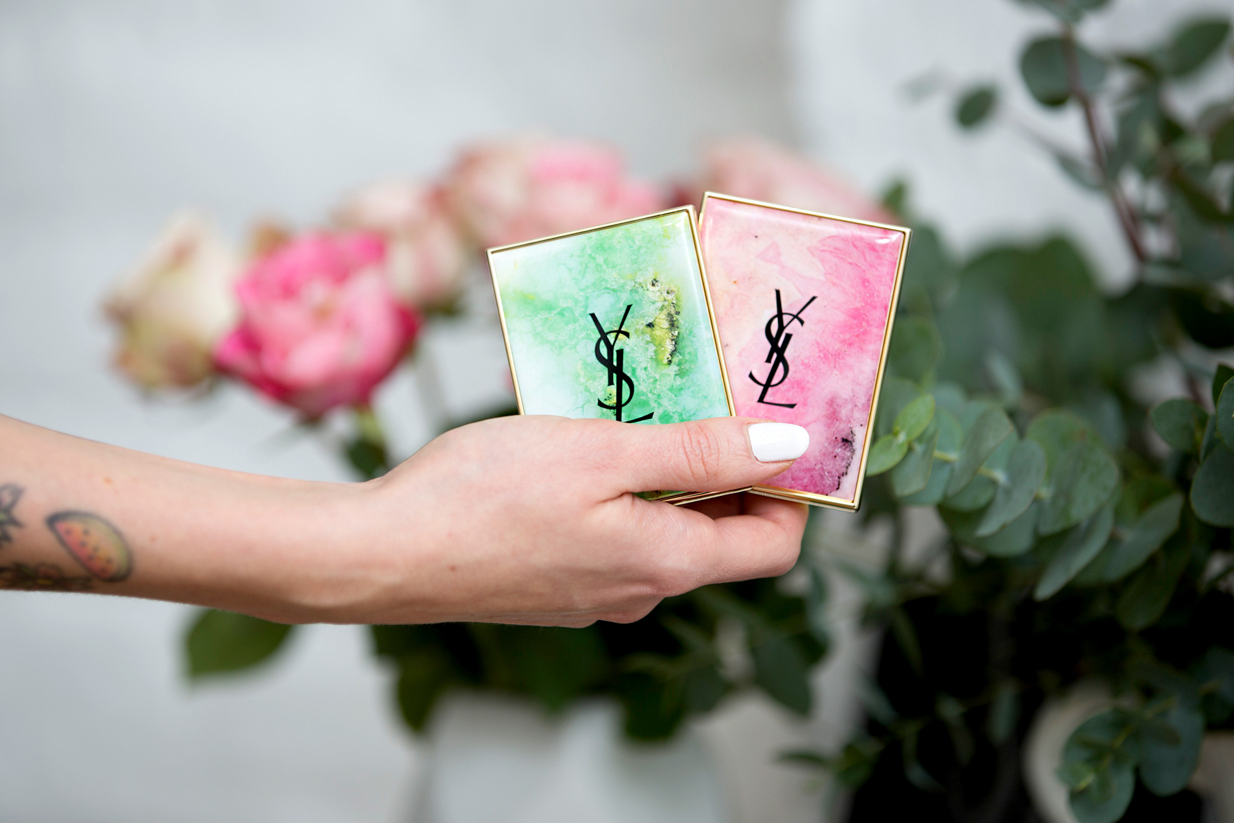 YSL Boho Stones Make-Up special edition blush eye shadow palette beauty beautyblogger spring look cute girly schminken amu ricarda schernus beautyblogger cats & dogs blog düsseldorf 4