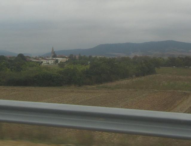Santo Domingo de la Calzada desde la autopista