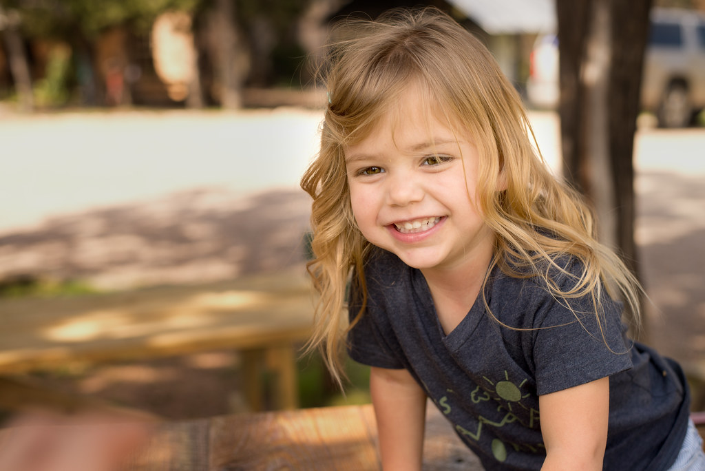Smiling Reese