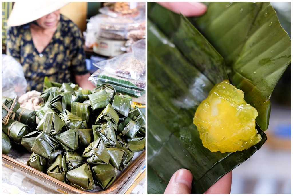 "Hoi An Food Tour: Banh It La Gai's Bánh phu thê (literally ""husband and wife cake"")"