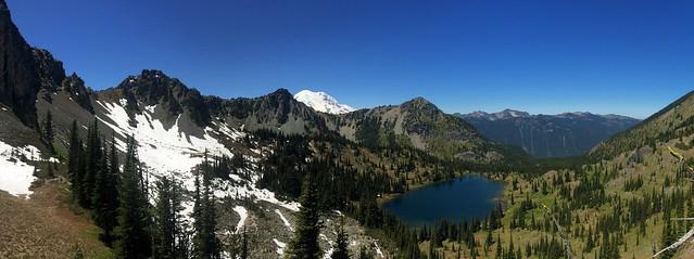 Crystal Lake & Mount Rainier