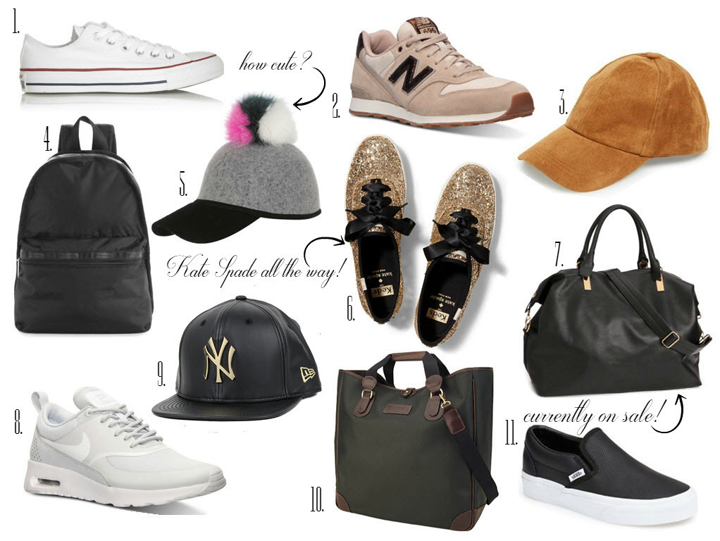 sporty style accessories