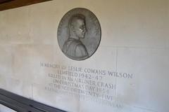 Leslie Cowan Wilson memorial