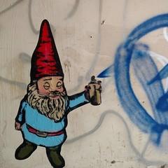 Gnaughty gnome.