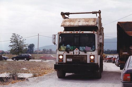 armée mack kosovo usarmy années90 americantruck lkw camion truck
