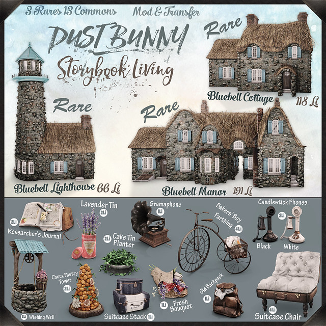 dust bunny . storybook living